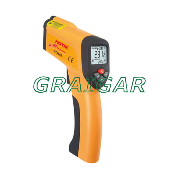 HT-6888 Non-contact High Temperature infrared thermometer  ht 6885 non contact high temperature infrared thermometer backlight lcd display
