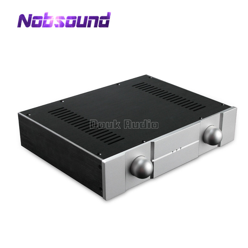 Nobsound New Aluminum Chassis Amplifier Enclosure DIY Case DAC House Box (W320*H70*D248mm) звуковая карта asus xonar essence stx ii 7 1