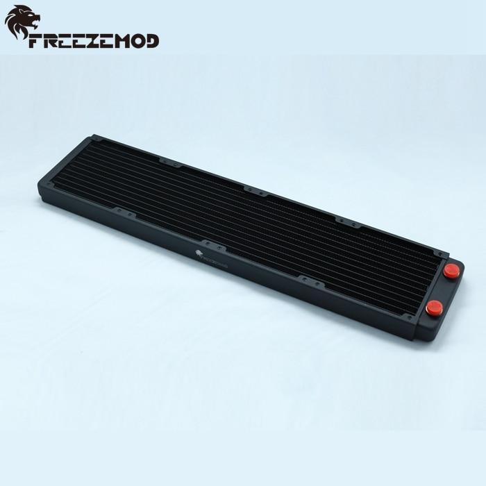 Prix pour FREEZEMOD 480mm cuivre ordinateur d'eau liquide radiateur pour 4*12 cm fans. TSRP-BP480