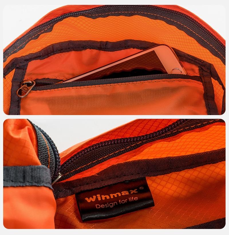 dobrável mochilas à prova dtravelágua viajar sacos portátil confortável daypack