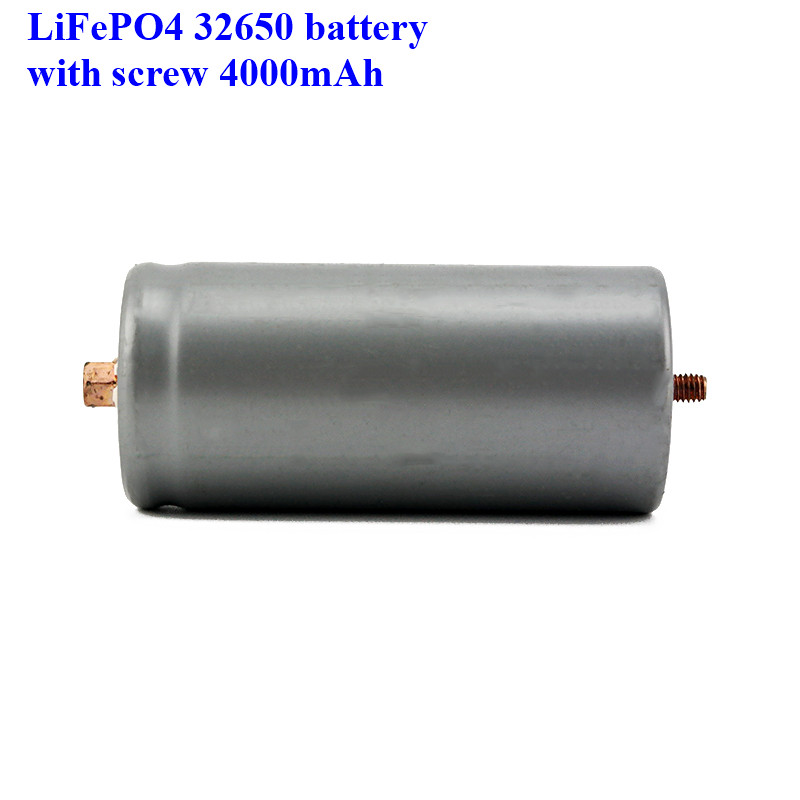 Image 2 - 2pcs a lot screws LiFePO4 battery 32650 4000mAh rechargeable lithium ion cell for Electric bike-in Rechargeable Batteries from Consumer Electronics