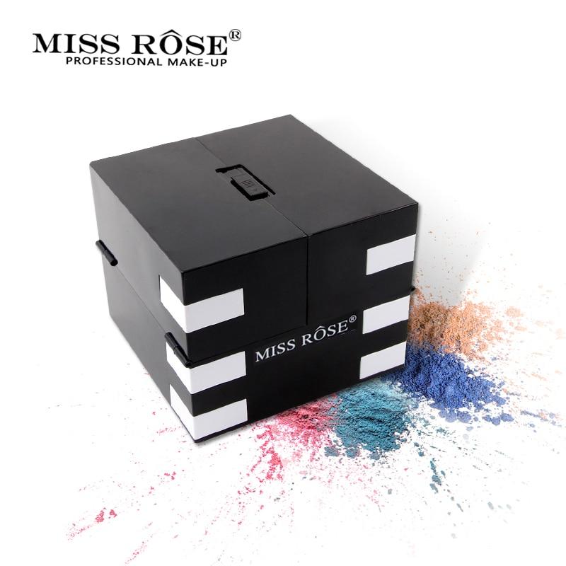 2018 Miss Rose 142 di Colore Opaco Ombretto Tavolozze Glitter Shimmer Impermeabile Ombretto Illuminare di Lunga Durata Trucco Luminoso - 6