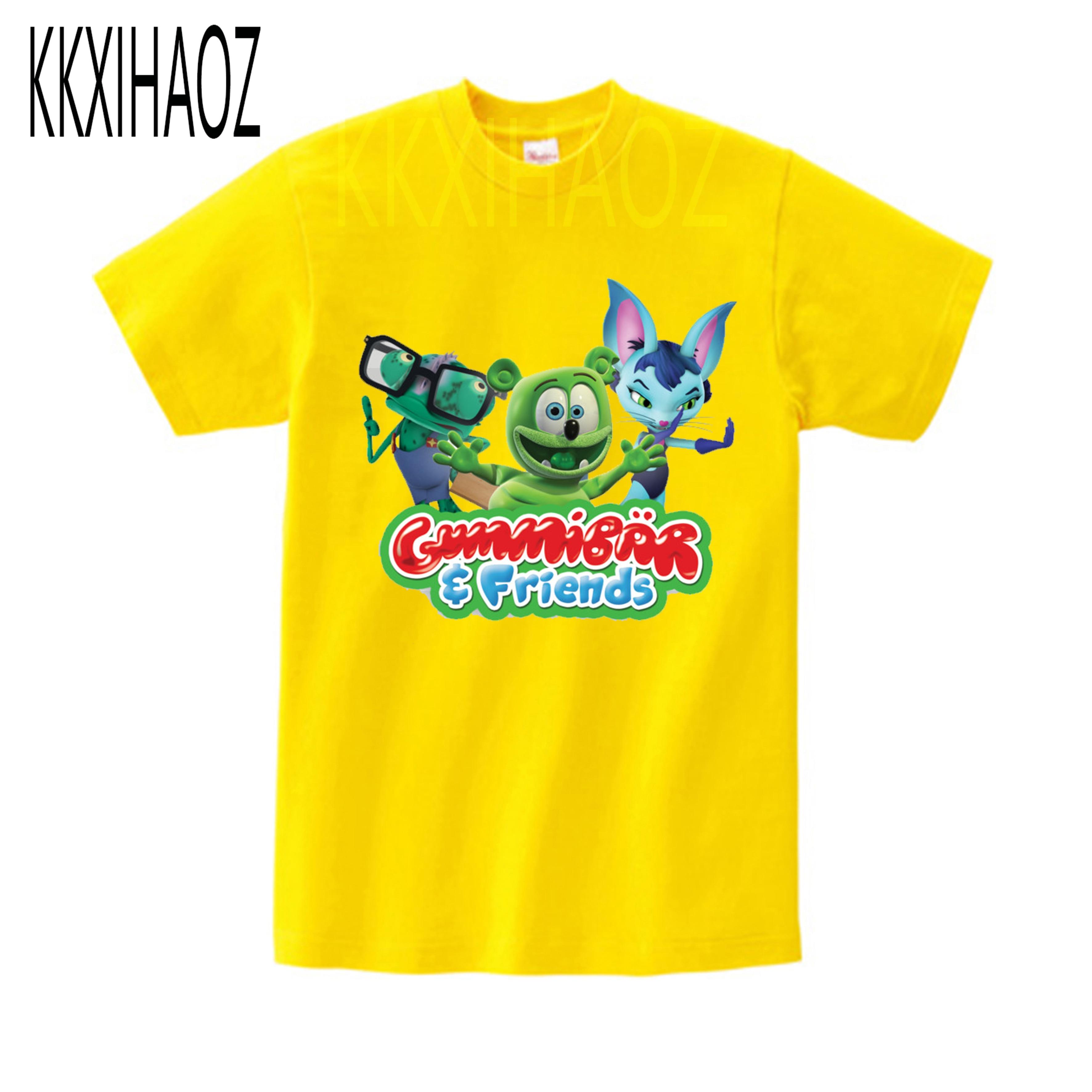 Yellow Duck Eat Watermelon Raglan 3//4 Sleeves Shirt for Girls Boys