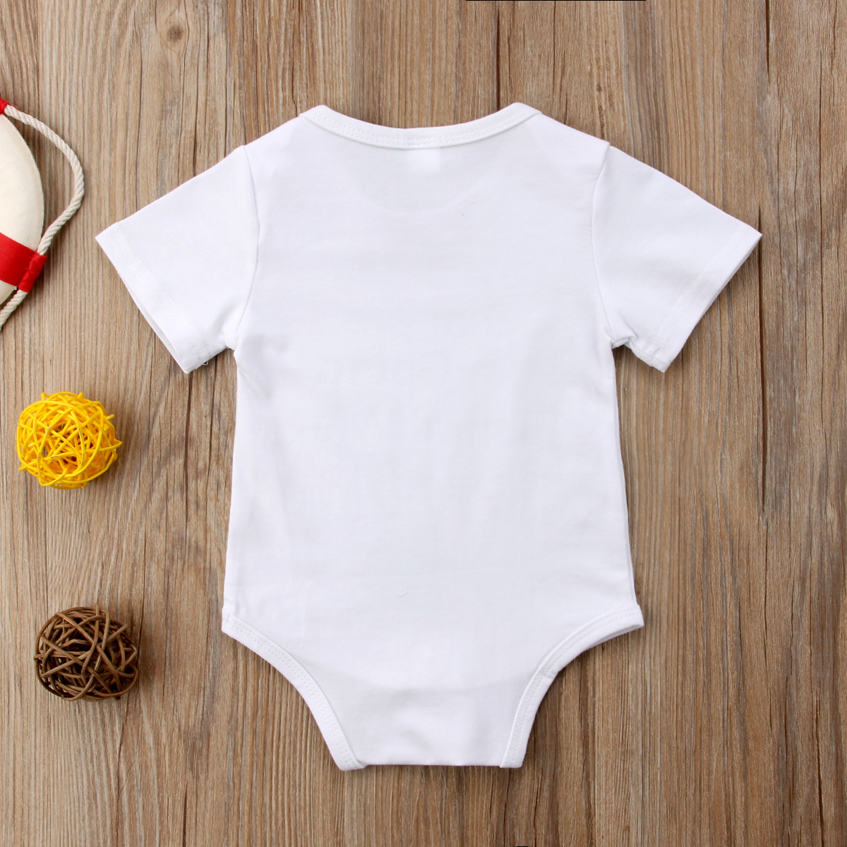 Newborn Baby Boys Girls Letter Bodysuits Onesie Infant Babies Go Fishing Cute Cotton Bodysuit one-pieces Outfits Kids Clothing