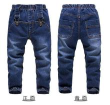Brand Kids Boys Jeans Trousers 100% Cotton 2017 Spring Summer Washed Zippers Children's Fashion Denim Pants Street Style Trouser