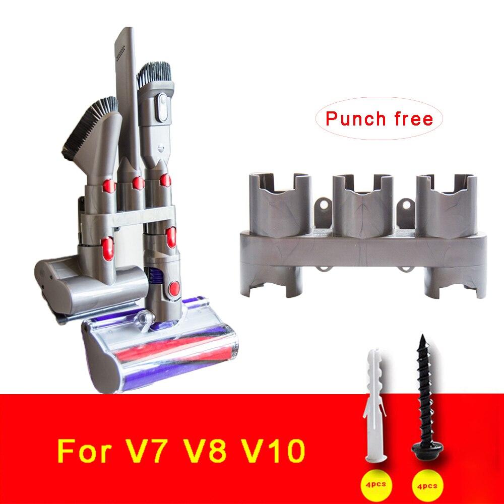 Staubsauger Teil Lagerung Halter für Dyson V10, V8, v7 Absolute Pinsel Ständer Werkzeug Düse Basis Halterung Docks Station Zubehör