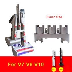 Vacuum Cleaner Part Storage Holder for Dyson V10, V8, V7 Absolute Brush Stand Tool Nozzle Base Bracket Docks Station Accessories
