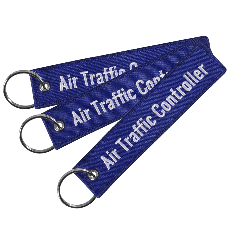 Arts,crafts & Sewing Apparel Sewing & Fabric Remove Before Flight Key Chain Jewelry Embroidery Air Traffic Controller Key Ring Chain For Fashion Keychains For Aviation Lover High Quality