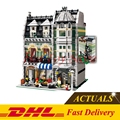 LELE 30005 DHL Lepin 15008 Calle Creador Verdulería Kits de Edificio Modelo Bloques Ladrillos Compatible Con 10185