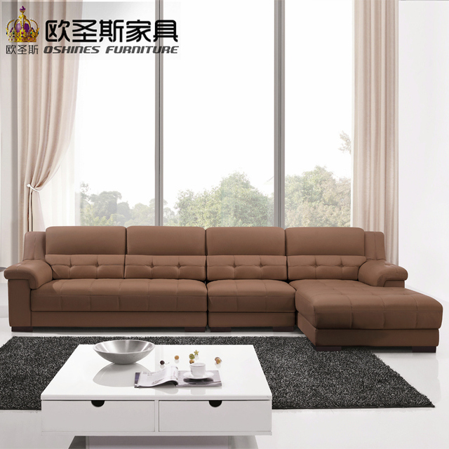 Beau Latest Sofa Designs 2016 Sectional Corner L Shape Modern Euro Design Nova  Leather Sofa OCS