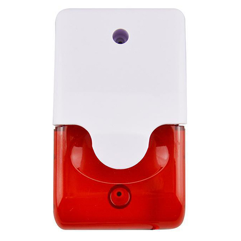 Back To Search Resultssecurity & Protection Alarm Siren The Best 9-12v Mini Indoor Wired Siren With Red Light Siren Flash Sound Home Security Alarm Strobe System 110db Hot Sale Distinctive For Its Traditional Properties