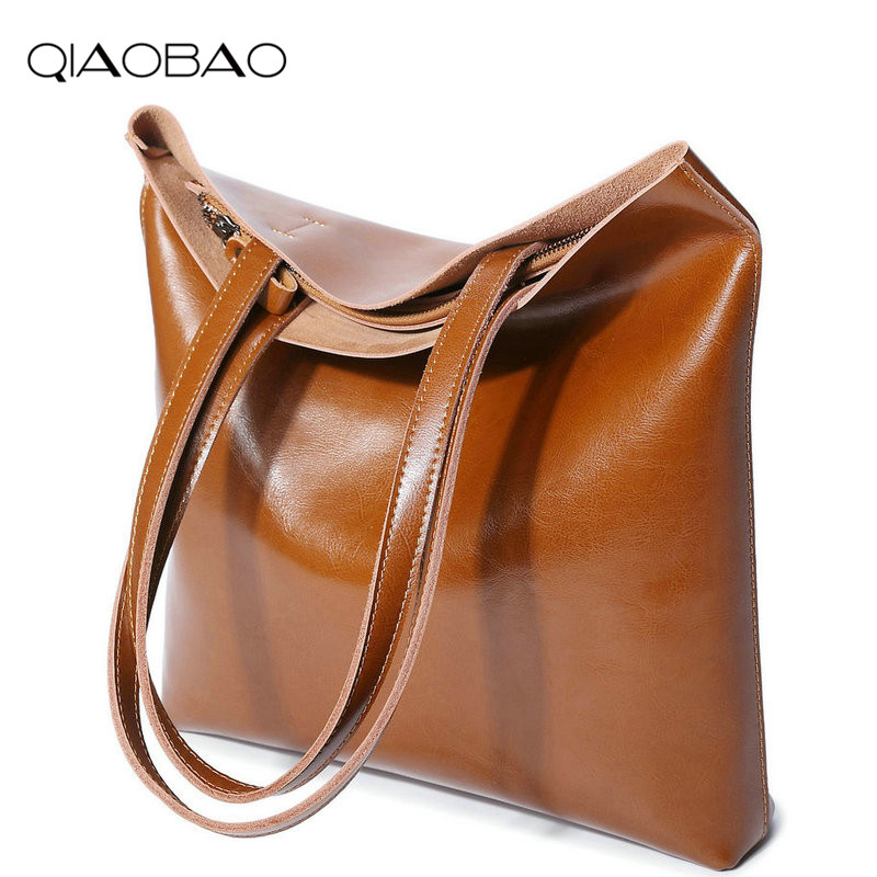 QIAOBAO Women General Genuine Leather handbags tide Europe fashion first layer of cowhide women bag hand diagonal cross package qiaobao women general genuine leather handbags tide europe fashion first layer of cowhide women bag hand diagonal cross package
