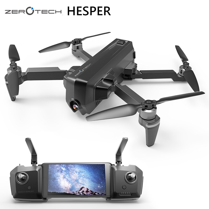 Zerotech HESPER 4 К Drone FPV с HD Камера 1080 P gps + VP Smart Gimbal селфи Камера Складная RC quadcopter drohne вертолет