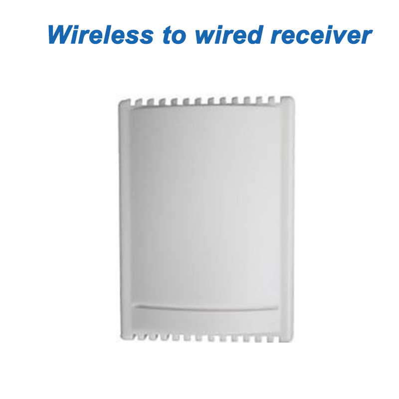 Multi-Function Receiver 4 Channels Magnetic Alarm Contacts Intelligent Wireless to Wired Convertor Receiver, Free Shipping contacts
