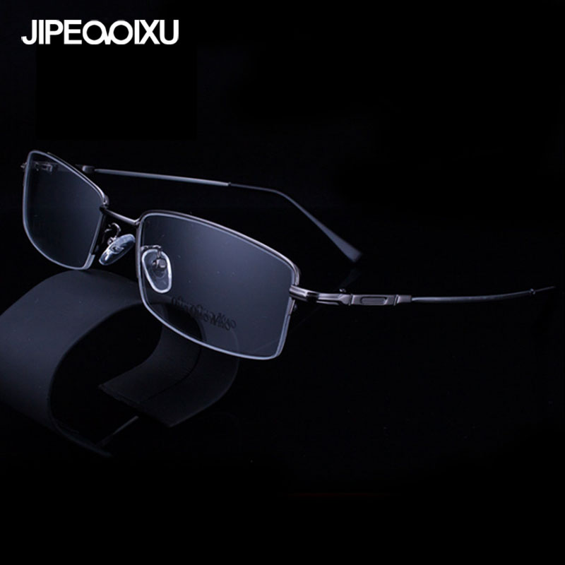 3ecdb09609b3 Aliexpress.com : Buy JIPEMIXU Men Fashion Optical Glasses Frame Square  Metal Luxury Eyeglasses Frames Women Simple classic Myopia Spectacles from  Reliable ...