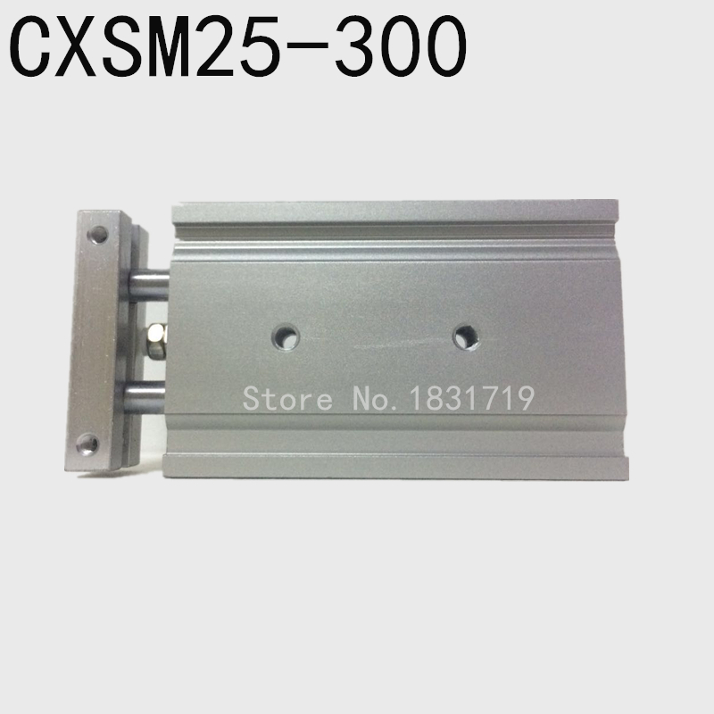 SMC type CXSM25-300 CXSM25*300 double cylinder / double shaft cylinder / double rod cylinder 25mm bore 300mm stroke стоимость