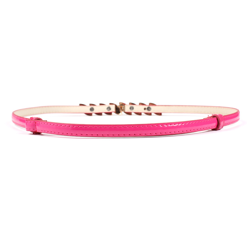 2019 New PU Leather Belts for Women Candy Color Red Blue Pink Waist Belt White Stone Mosaic Buckle Waist Band for Ladies Dress in Women 39 s Belts from Apparel Accessories