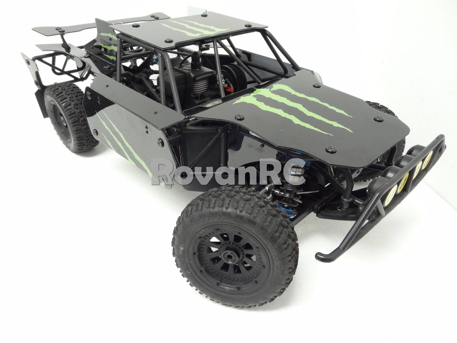 1 5 Scale Rovan LT305 Monster Energy Roll Cage Body Panel Kit Fits LOSI 5IVE T in Parts & Accessories from Toys & Hobbies on Aliexpress