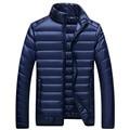 2016 New Autumn & Winter Men Casual Ultra light Duck Down Jackets Mens Lightweight Slim Fit Duck Down Outerwear Plus Size M-3XL