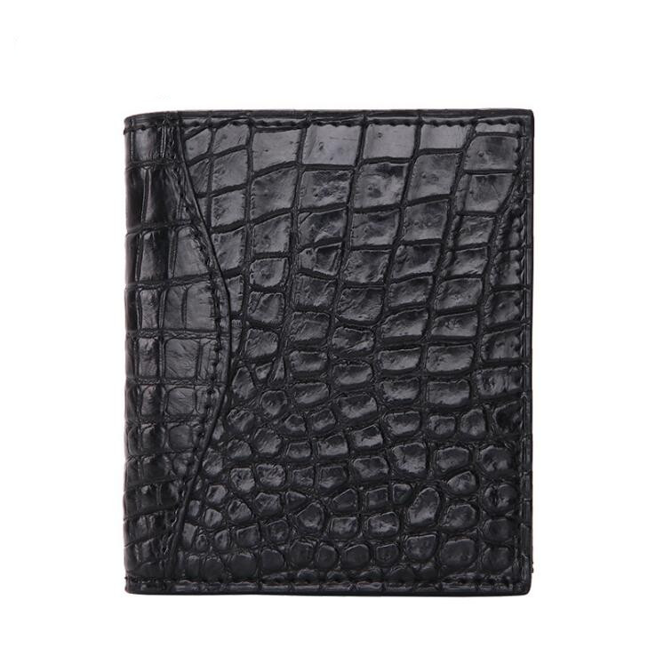 Free freight crocodile skin handmade wallet Multicard Genuine Leather Men wallet Corss Pattern Coin purse free freight python skin handmade men wallet multicard genuine leather coin purse corss pattern men wallet