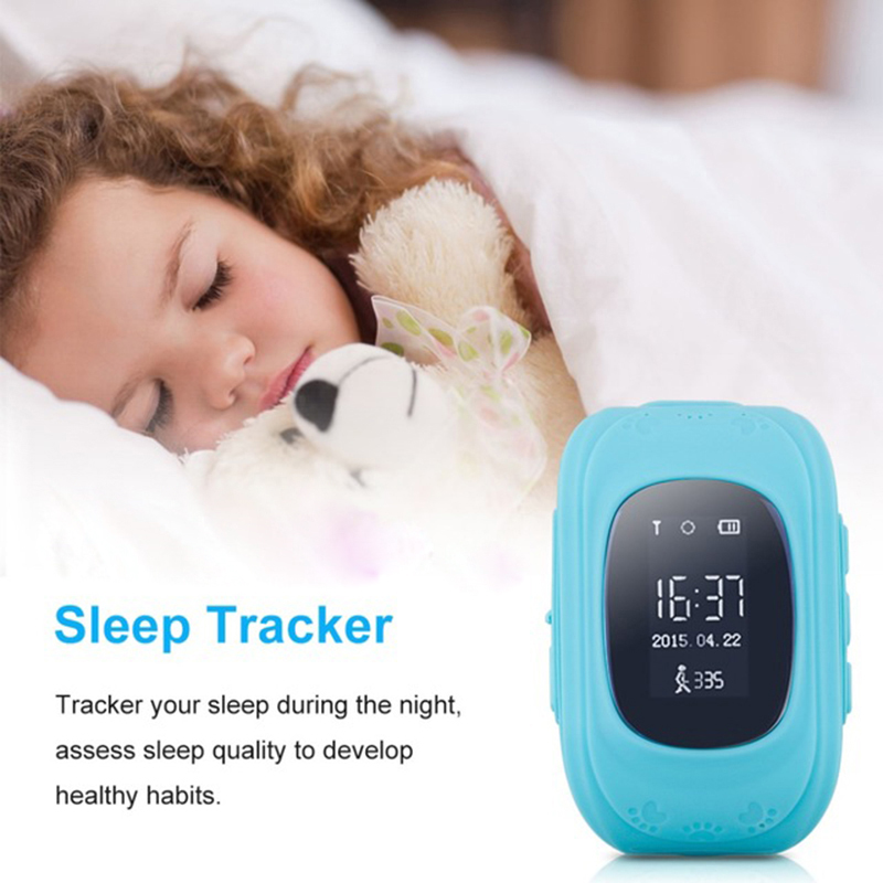 Q50 Écran OLED Enfants Montre Smart Watch GPS SOS Call Lieu Finder Locator Tracker Smart Bébé Montre pour Enfants Anti Perdu moniteur c7