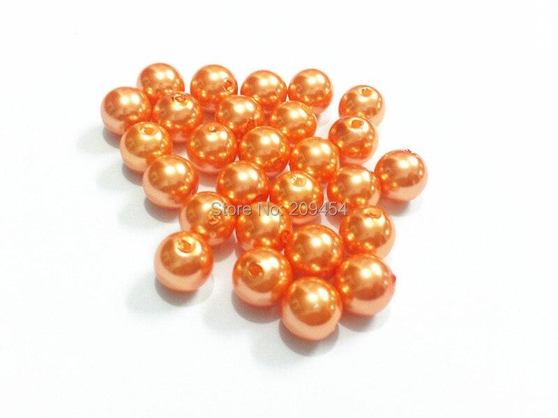 (Choisissez la taille dabord) perles dimitation acrylique 6mm/8mm/10mm/12mm/14mm/16mm/18mm/20mm/23mm/25mm/Orange(Choisissez la taille dabord) perles dimitation acrylique 6mm/8mm/10mm/12mm/14mm/16mm/18mm/20mm/23mm/25mm/Orange