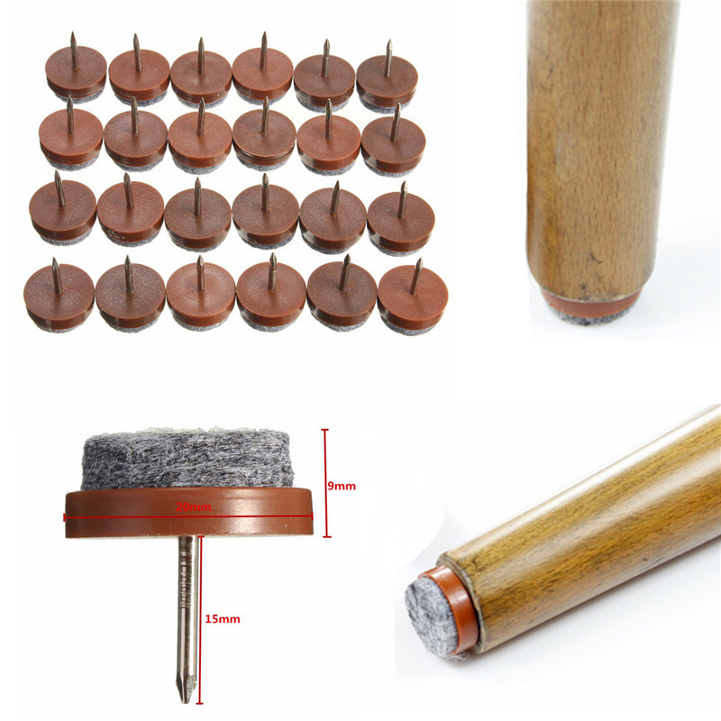 8PCS/Lot High Quality Table Chair Feet Legs Glides Skid Tile Felt Pad Floor  DIY Nail Protector Furniture Tables Chair Leg In Furniture Legs From  Furniture ...