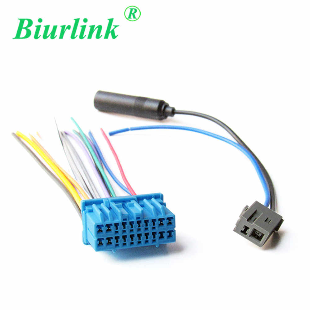 medium resolution of detail feedback questions about biurlink car cd changer aerial antenna harness cable adapter wire for honda fit odyssey buick excelle suzuki on