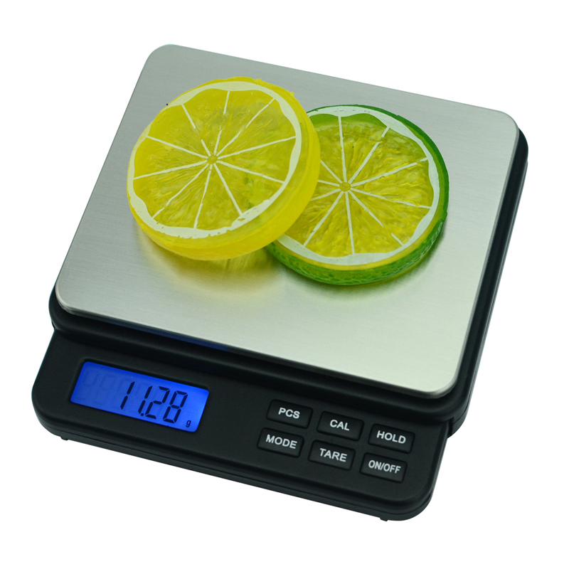 Escala de Jóias de Alta Balança de Cozinha Balança de Peso Balança de Dieta de Alimentos Precisão Balança Eletrônica 1000g 0.01g