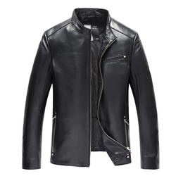 2017 new sheepskin men jacket natural genuine leather fashion casual motorcycle hip hop jacket .jpg 250x250