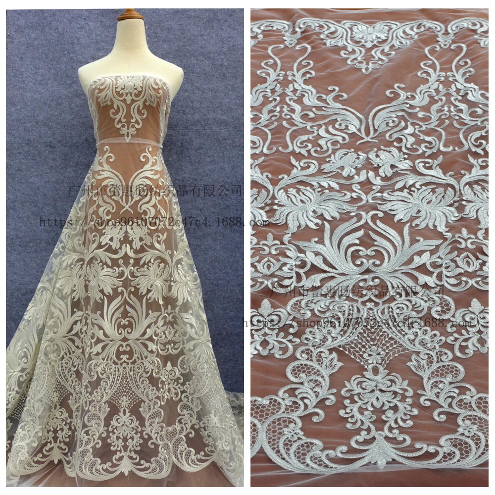 Beautiful Lace Can customized Any wedding dress according to your requirements