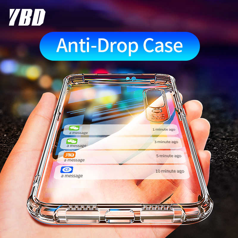 YBD Shockproof Case for Xiaomi Redmi Note 7 8 pro Coque for Xiaomi mi 9 se Protective Case for Xiaomi mi 9 9t cc9 redmi K20 Case