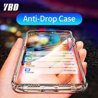 YBD Shockproof Case for Xiaomi Redmi Note 7 8 pro Coque for Xiaomi mi 9 Protective Case for Xiaomi mi 9 9t cc9 redmi K20 8T Case