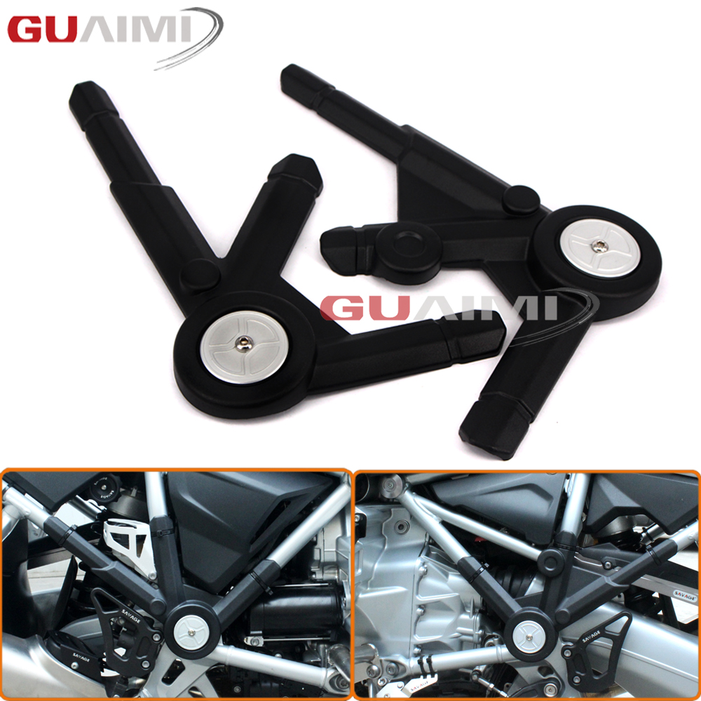 For BMW R1200GS LC/ R1200 GS LC Adventure 2013-2016 Motorcycle Left & Right Side Frame Panel Guard Protector Cover