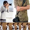 Garantizado 100% Cámara Fotografía Rápida Solo Hombro Cuello Honda Correa de la empuñadura Para Canon Para Nikon Para Sony DSLR SLR