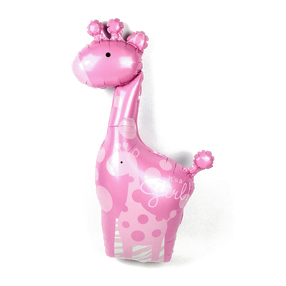 Itu0027s A Girl Foil Mylar Balloons Cute Giraffe Balloon For Baby Shower  Birthday Party Decoration(