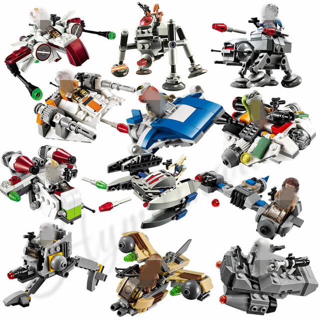 US $1.9 |Star Wars Microfighters ARC 170 X Wing TIE Advanced Prototype  Micro Fighters Building Blocks Toys Compatible with Lego-in Blocks from  Toys & ...