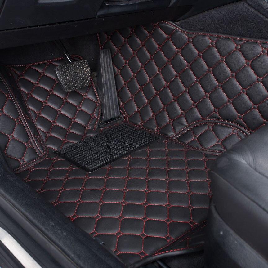 Car Floor Mats For Volkswage vw tiguan golf mk7 touareg passat golf 7 Teramont 2018 Accessories Car Carpet Floor Mats Liner