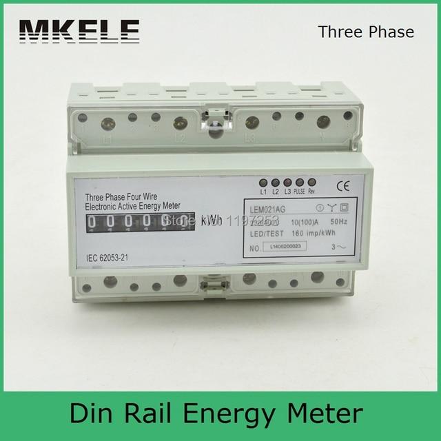 Brandneu Online-Shop MK-LEM021AG 3 phase 4 3-phasen-4-leiter-stromzähler  IS11