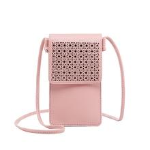 Купить с кэшбэком Fashion Lady Mobile Phone Shoulder bags touch Screen Crossbody Diagonal Purses Hot Sale light Women Wallets Clutch Messenger Bag