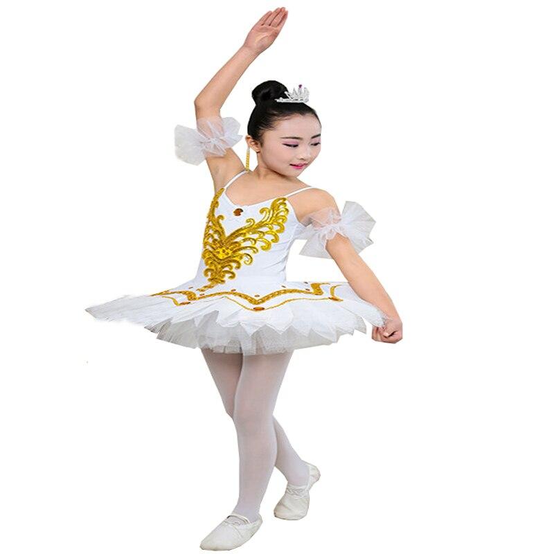 fe27ca4e8 Professional Swan Lake Ballet Tutu Costume Girls Children Ballerina ...