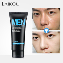 LAIKOU Face Washing Men Product Face Cleanser Facial Scrubs Natural Face Wash &Cleanser for Oily and Acne Prone Skin Oil Control