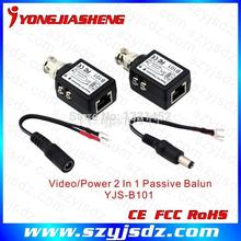 Best performance 1 ch video receiver Cat5 UTP Video Balun