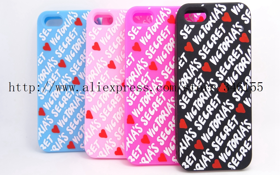 Love Victoria/'s Secret PINK Letters Soft Rubber Case iphone 5 5s 5g Skin Silicone Phone Covers & Newest - Shen zhen HW (3C store Digital Accessories Company)