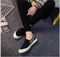 2017 Spring and Summer classic canvas shoes white leisure  flat  shoes lazy loafers