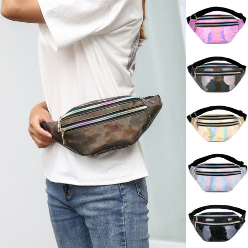 2019 Women Waist Fanny Pack Belt Bag Travel Hip Bum Bag Small Purse Chest Pouch
