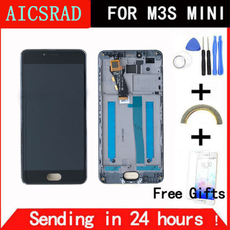 Q & a de QYJOY Para Meizu M3 S M3 Mini LCD Pantalla Táctil Reemplazo Asamblea digitalizar Para Meizu Meilan M3s 3 s Y685Q Y685M Y685H