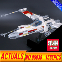 Lepin 05039 Star Cool Model Wars 1586Pcs X Starfighter Wing Building Blocks 10240 Large Compatibility Model