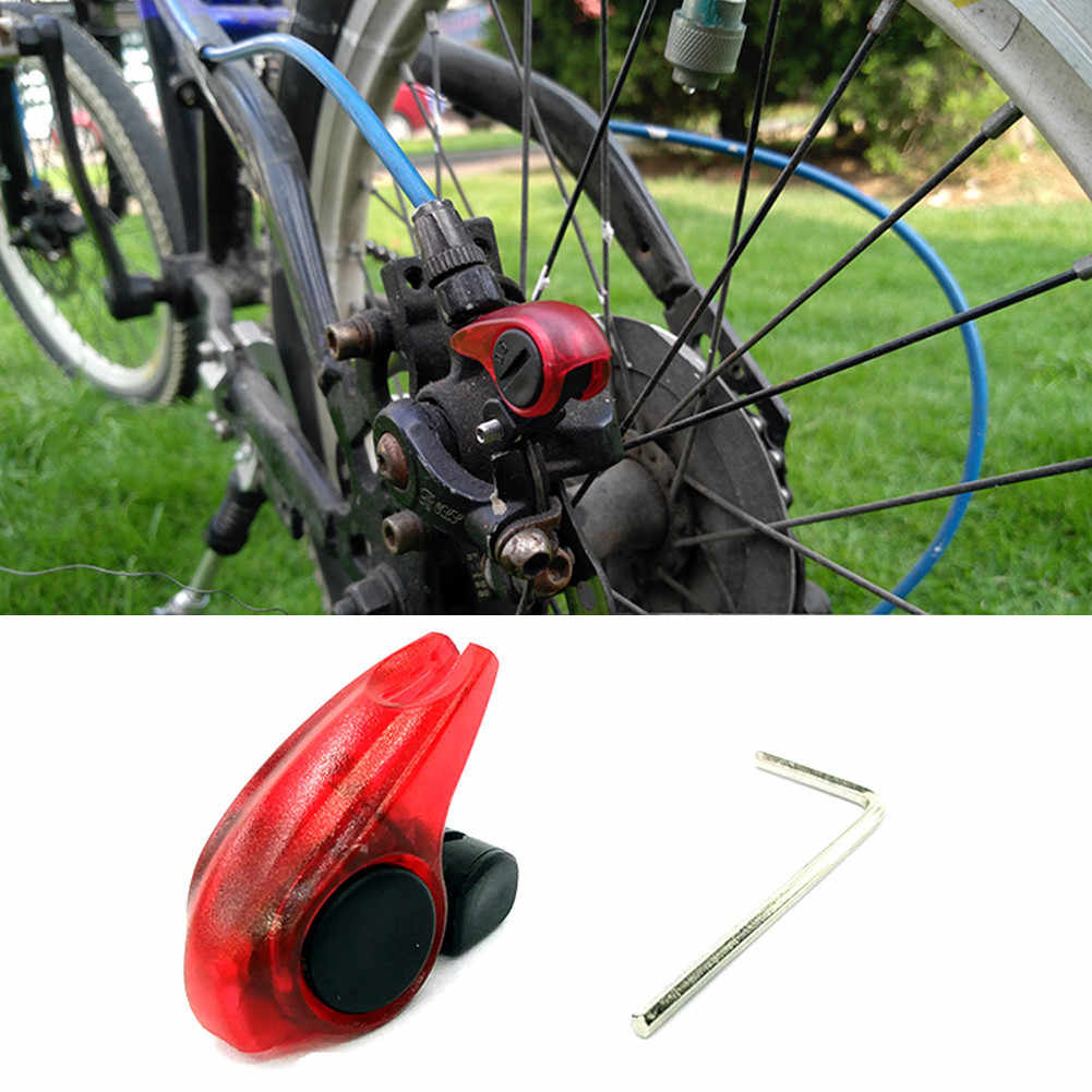 Red LED Cycling Bike Accessories Mountain Bicycle Brake Light Safe Tail Lamp New