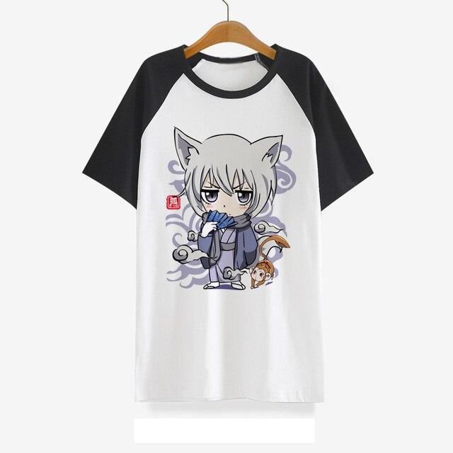 200636321 Beso kamisama hajimemashita amor camiseta anime tomoe Cosplay traje cute  camiseta algodón manga corta Camisetas Tees